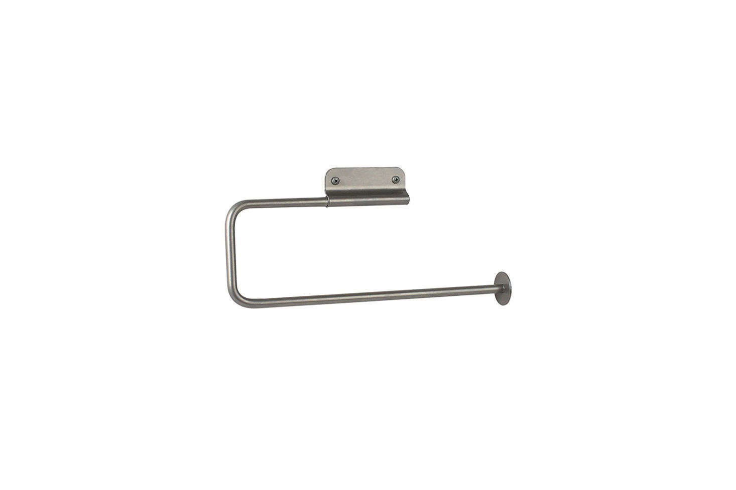 147d48257f2 The Spectrum Diversified Euro Wall-Mounted Paper Towel Holder in satin  nickel is  9.55 at