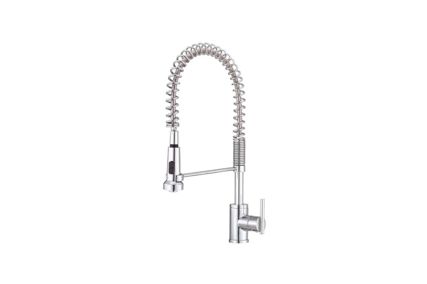 Commercial Kitchen Faucet with Pull
