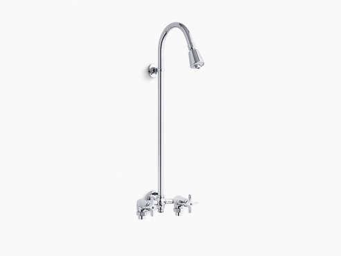 Kohler K 7254 Cp Industrial Exposed Shower