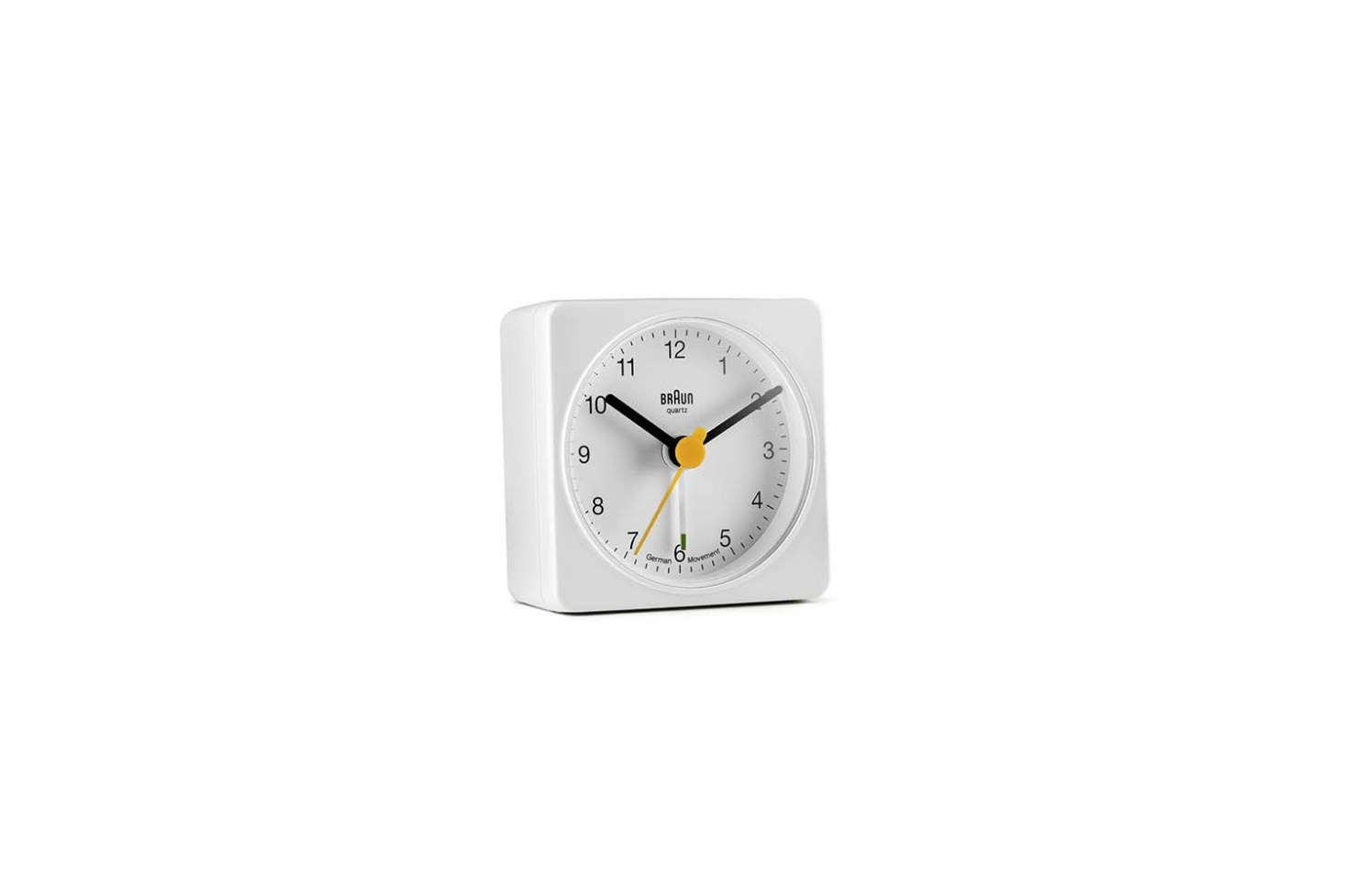 The Braun Classic Analog Quartz Alarm Clock (BNC00
