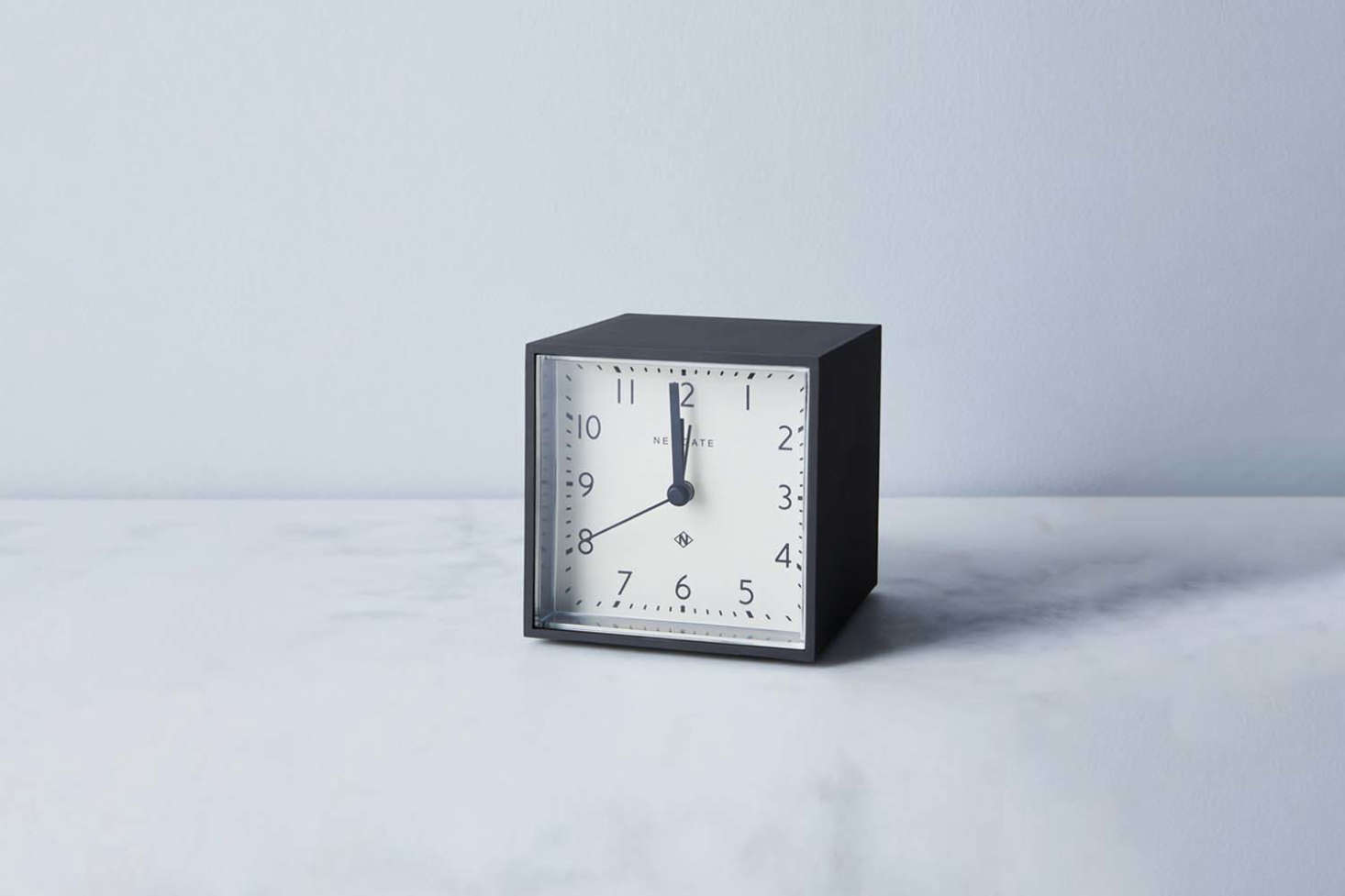 The Newgate Clocks Cubic Alarm Clock in black is $48 at Food5