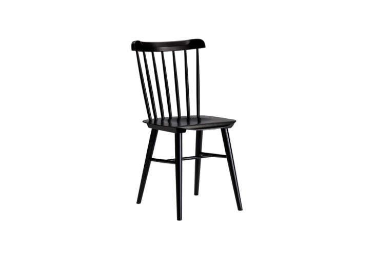 design within reach salt chair in black