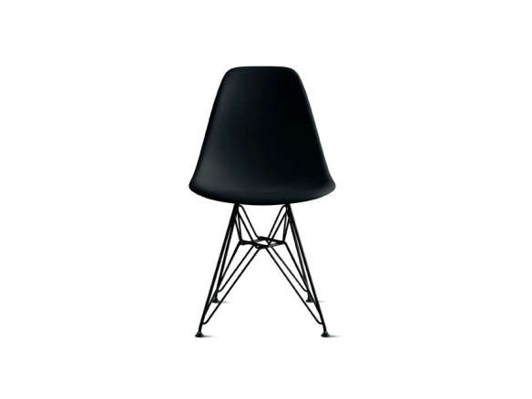 Eames Molded Side Chair Black