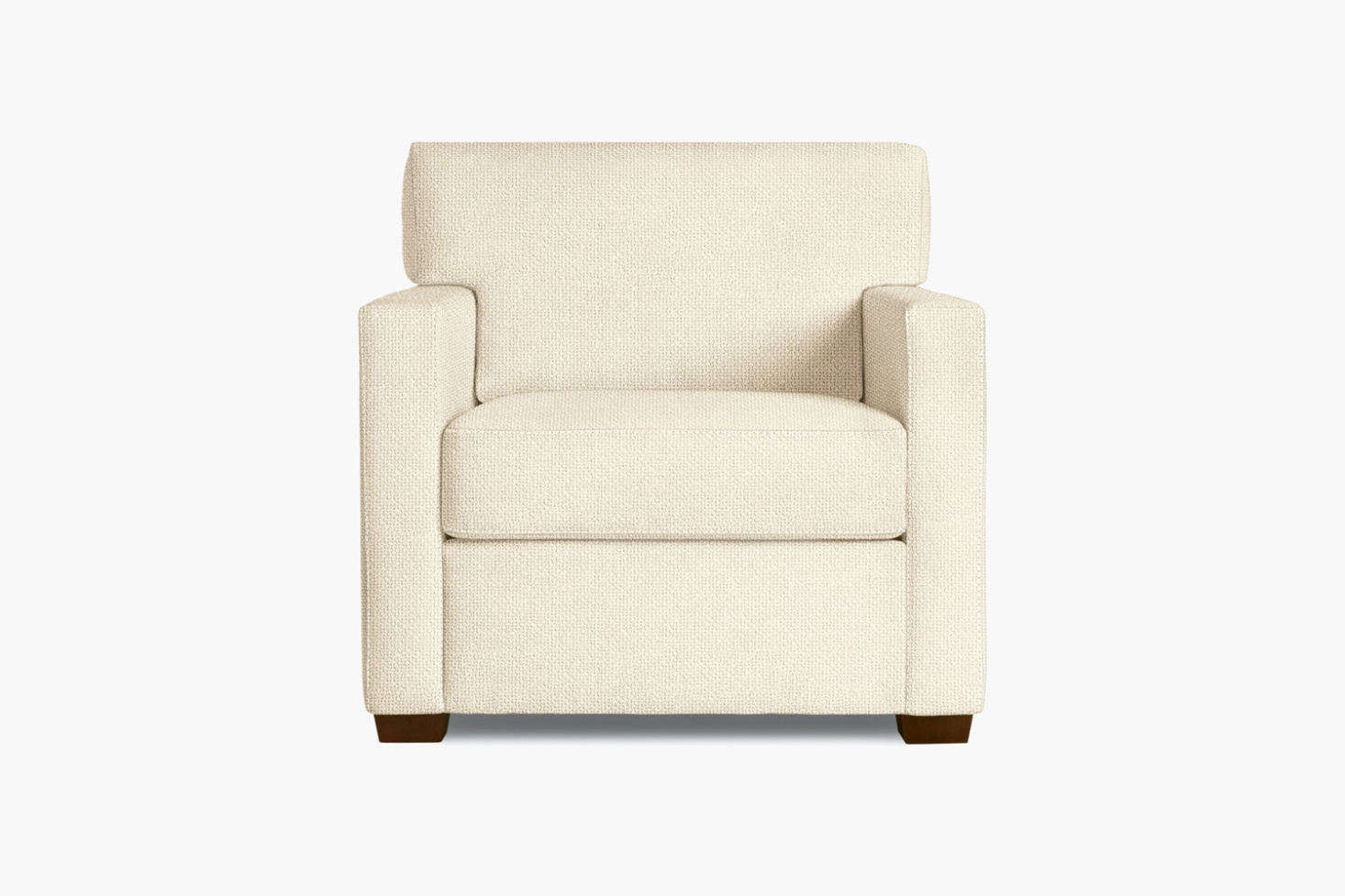 At Design Within Reach, the Vesper Armchair comes in a whole host of colors and fabric choices; starting at $