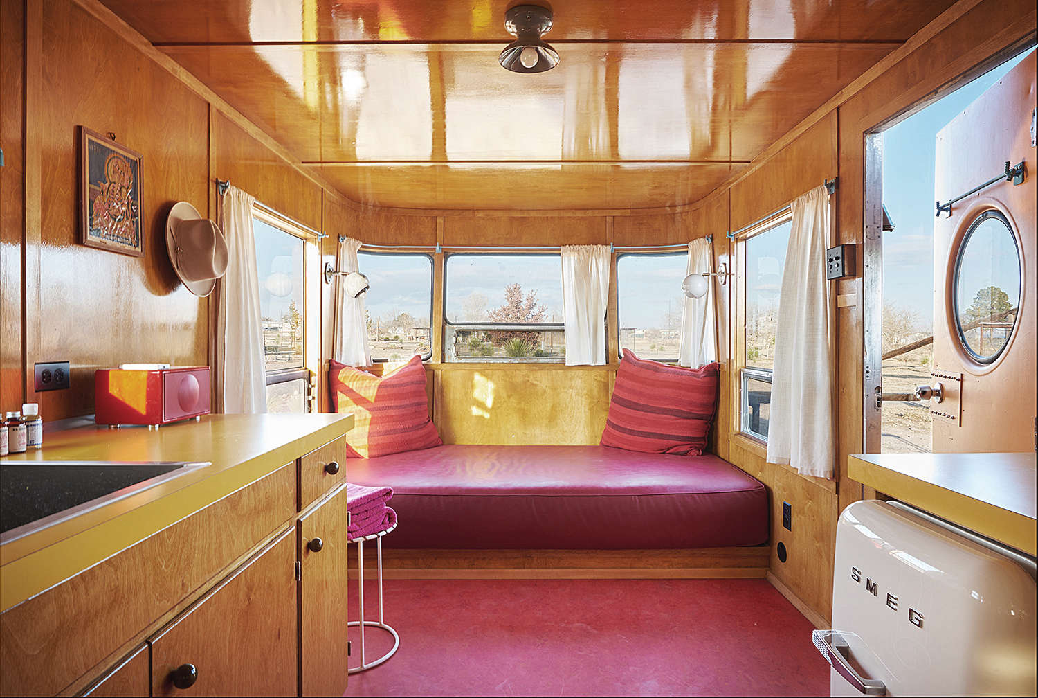 Above The Caravan Style Little Pinky Trailer