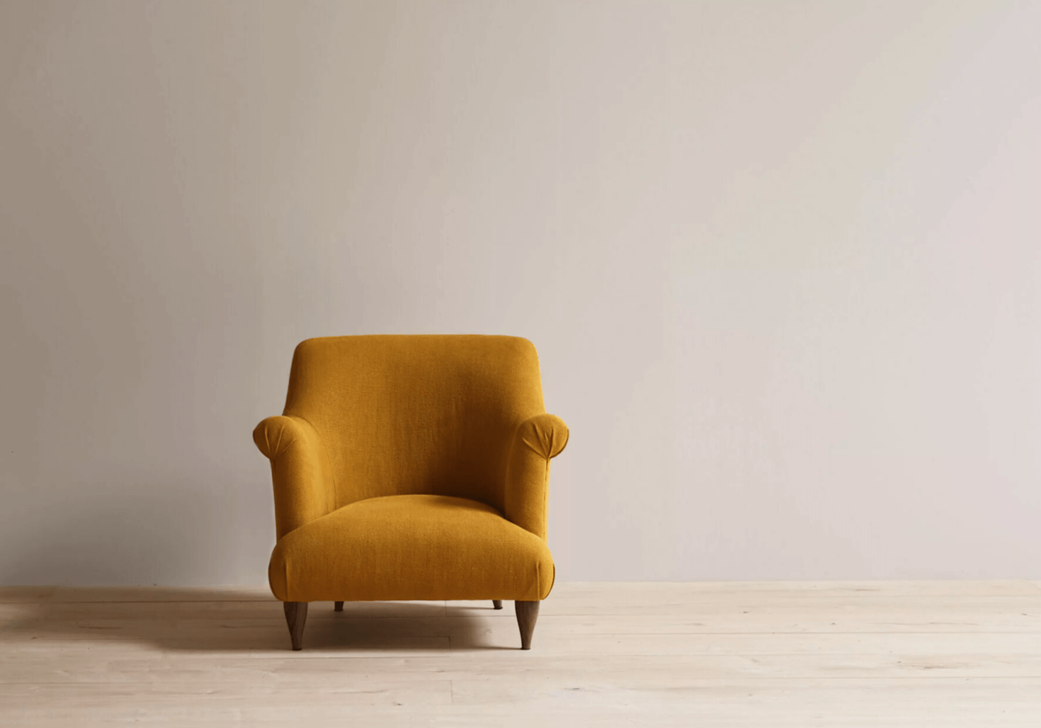 From Pinch in the UK, the Goddard Armchair comes in a range of upholstery options; £3,060 at Pinch.