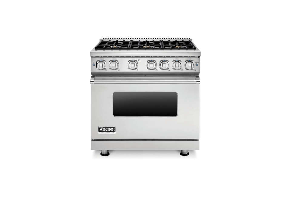 viking professional custom series 36 inch pro style dual fuel range 13 american made appliances from countertop mixers to ranges to      rh   remodelista com