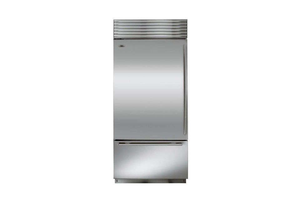 Sub-Zero is the standard-bearer of high-end refrigerators, with dual compressors (separate cooling units for the freezer and the refrigerator provide control over temperature and humidity, and prevent freezer burn). The latest models are Energy Star–rated and feature an airier interior with brighter lighting. The Sub-Zero BI-36U 36-Inch Built-In Bottom-Freezer Refrigerator, shown here, starts at $,075 in stainless steel; it&#8