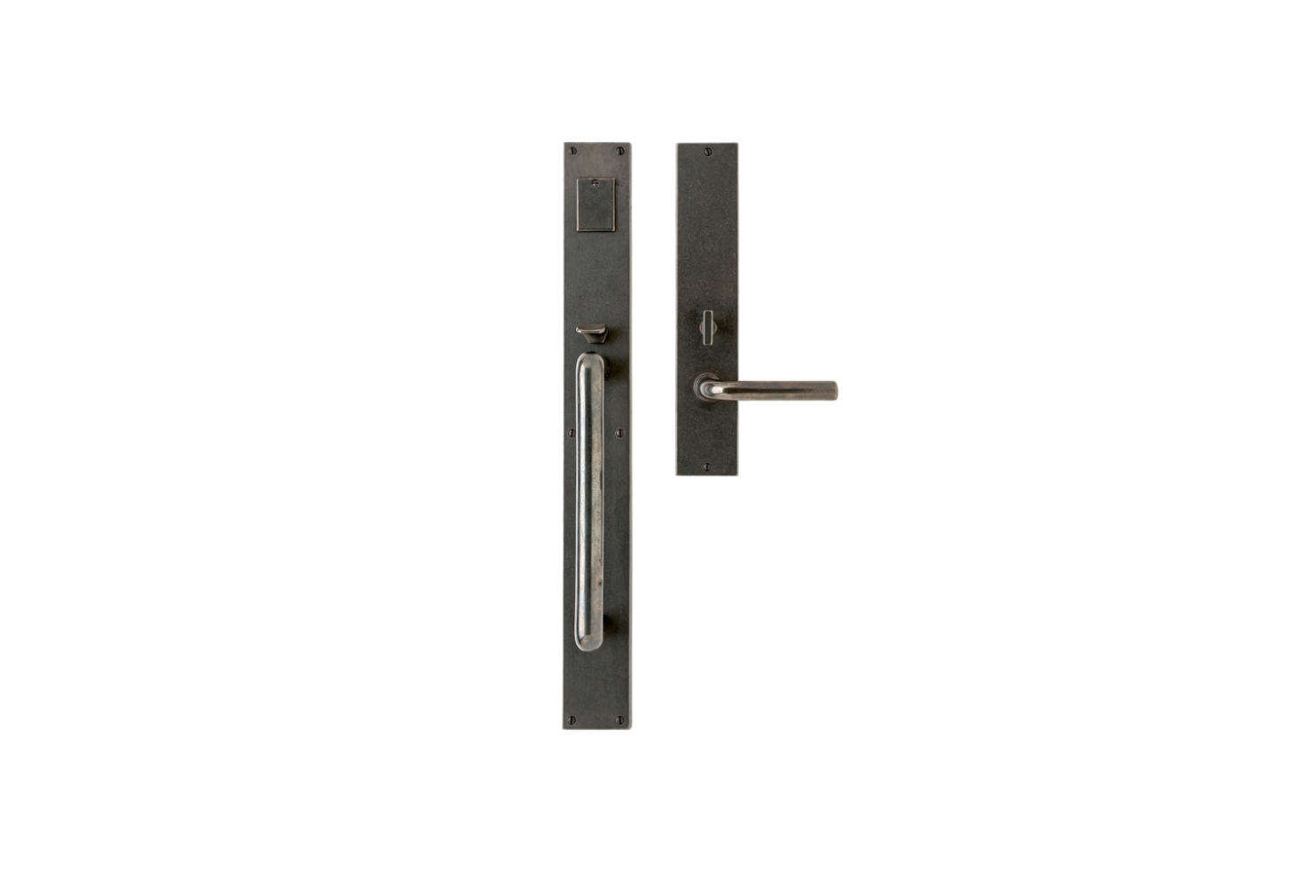 Another style from Sun Valley Bronze is the Handle Lever Mortoise Lock Door Entry Set. Contact Sun Valley Bronze for price and ordering information.