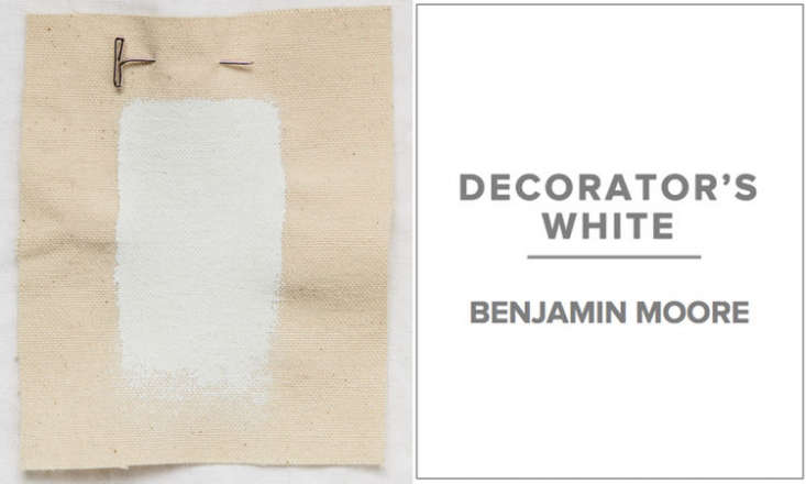 Benjamin Moore Decorators White Walbridge Remodelista