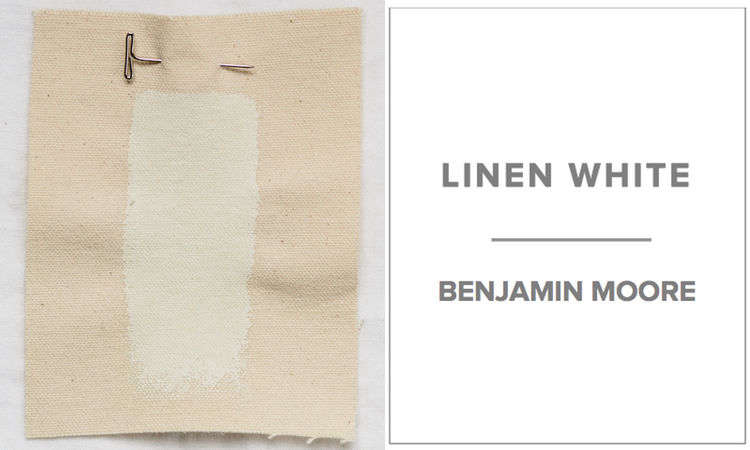 Dana Of Platt Architects Favors A Mix Half Benjamin Moore Linen White And