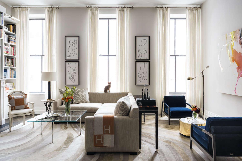Elizabeth Bolognino Interiors--living room nyc