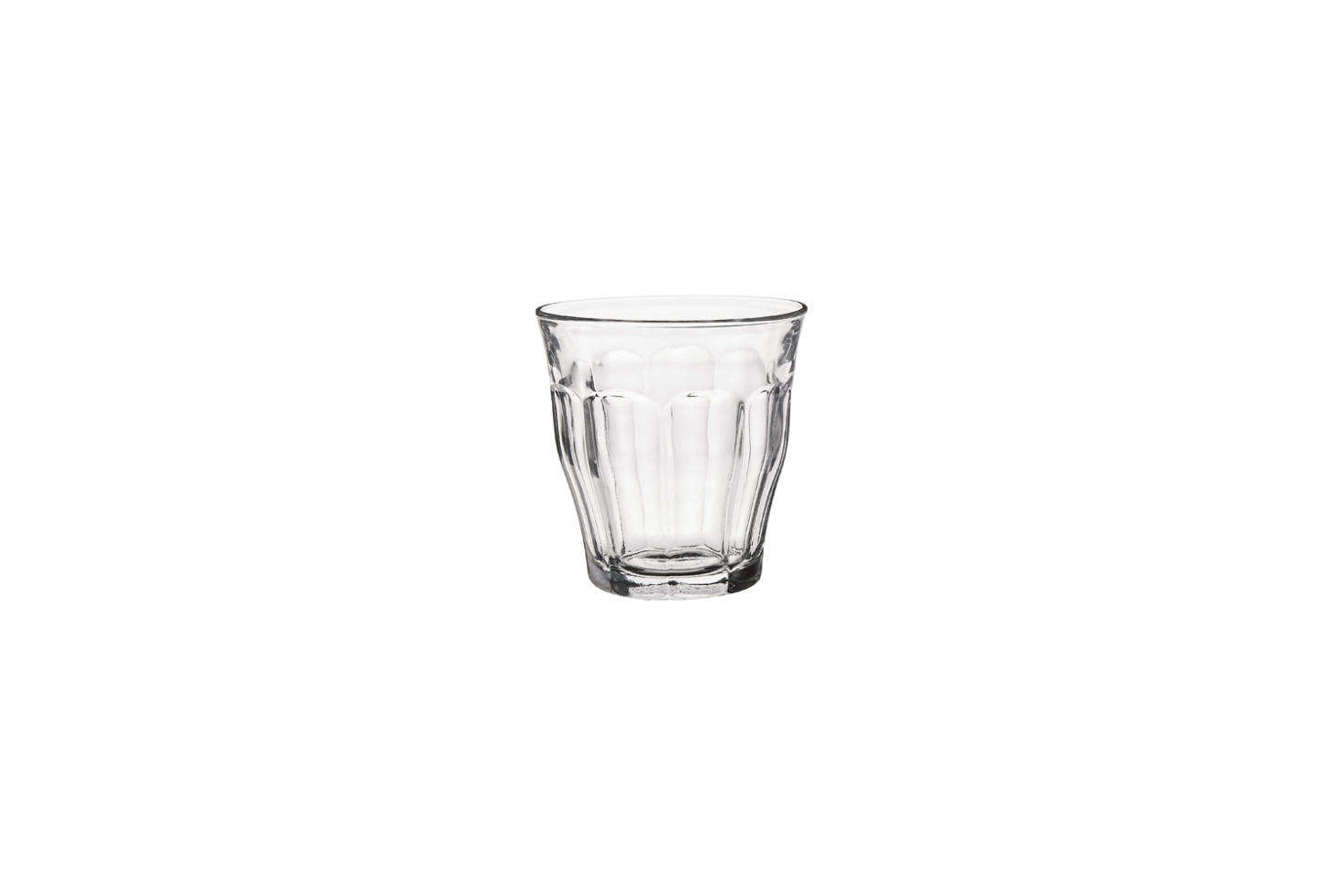 The classic French bistro wine glass from Picardie; a set of six is $.99 on Amazon.