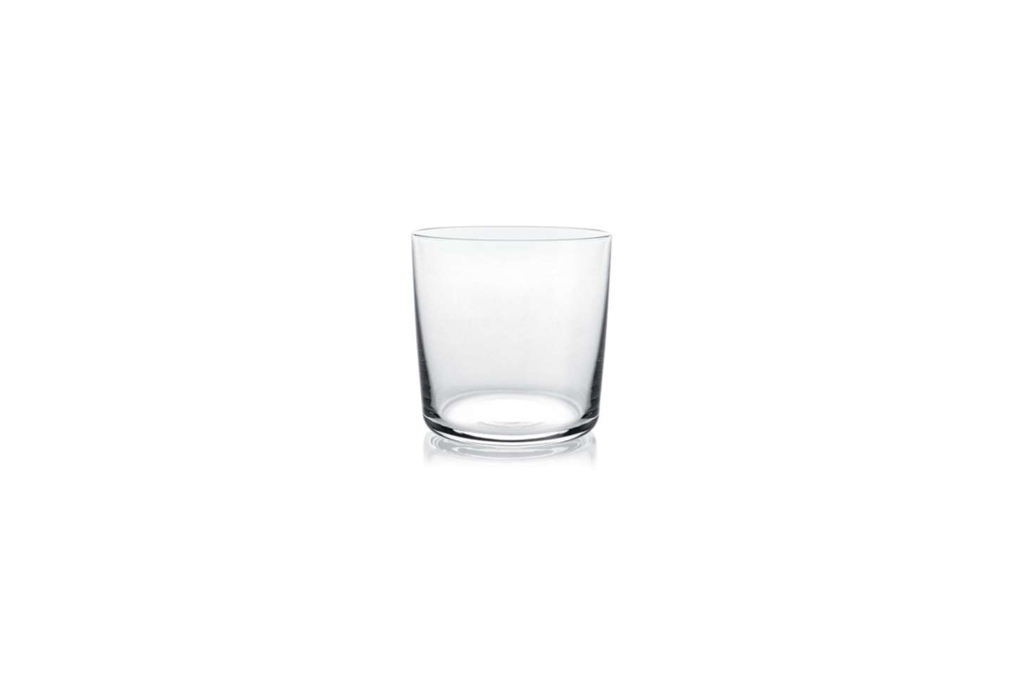 For more casual settings, consider the Alessi Glass Family White Wine Glass by Jasper Morrison; $40 for a set of 4 at Hive.