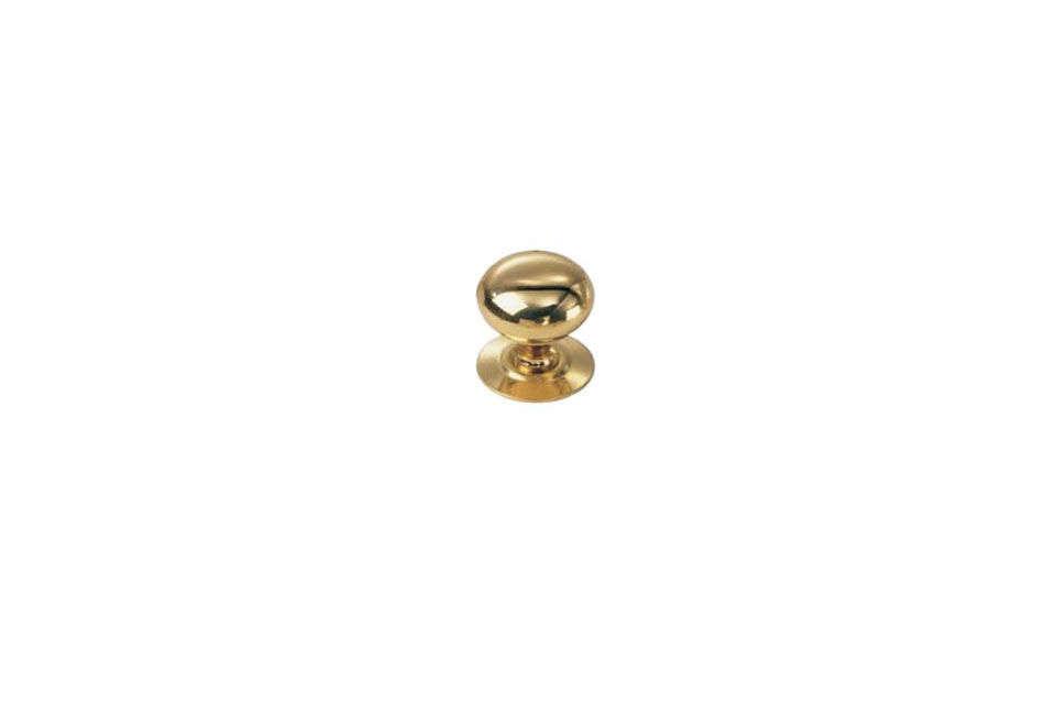 Laurey 443 Solid Brass Knob in Gold