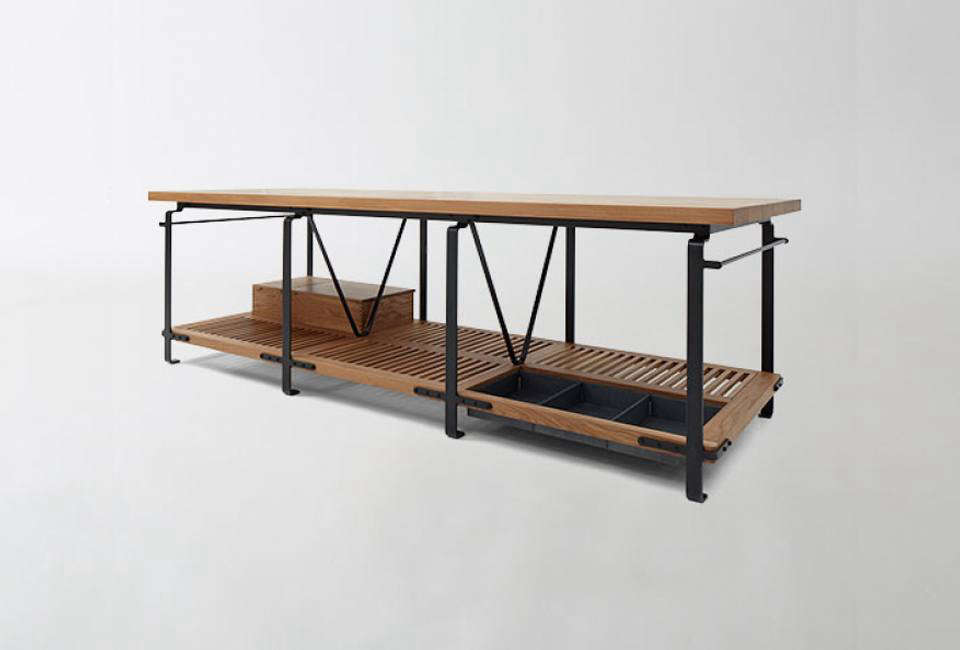 The March Kitchen Work Table, Designed And Fabricated By Berkeley Based  Matt Bear,