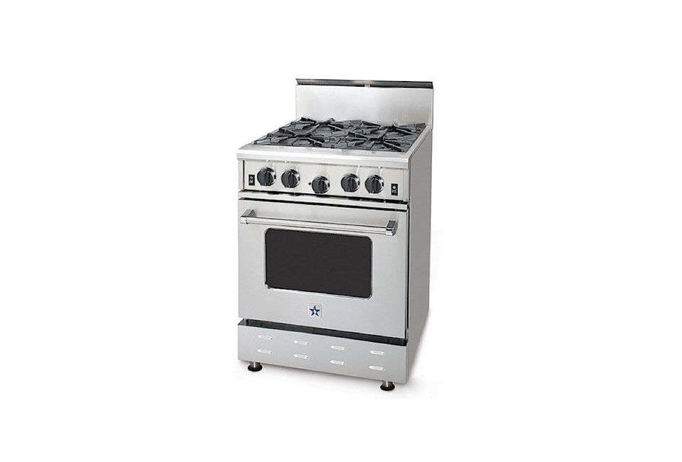 BlueStar Companion Series 24-Inch Pro-Style Range Compact Appliances  Apartment Size Stove