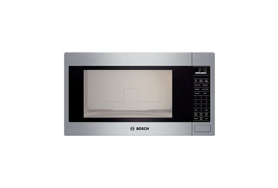 bosch stainless steel microwave oven