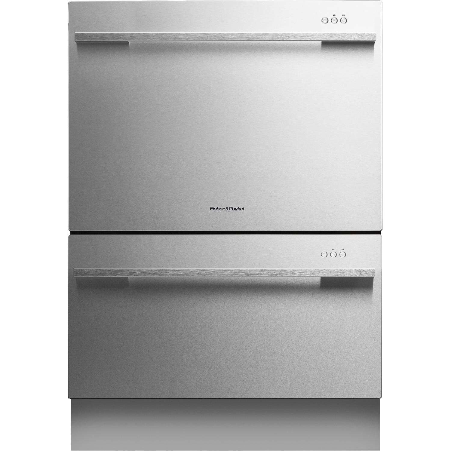 Fisher paykel dishdrawer tall series ss 24 in semi integrated dishwasher - Fisher paykel dishwasher drawer reviews ...