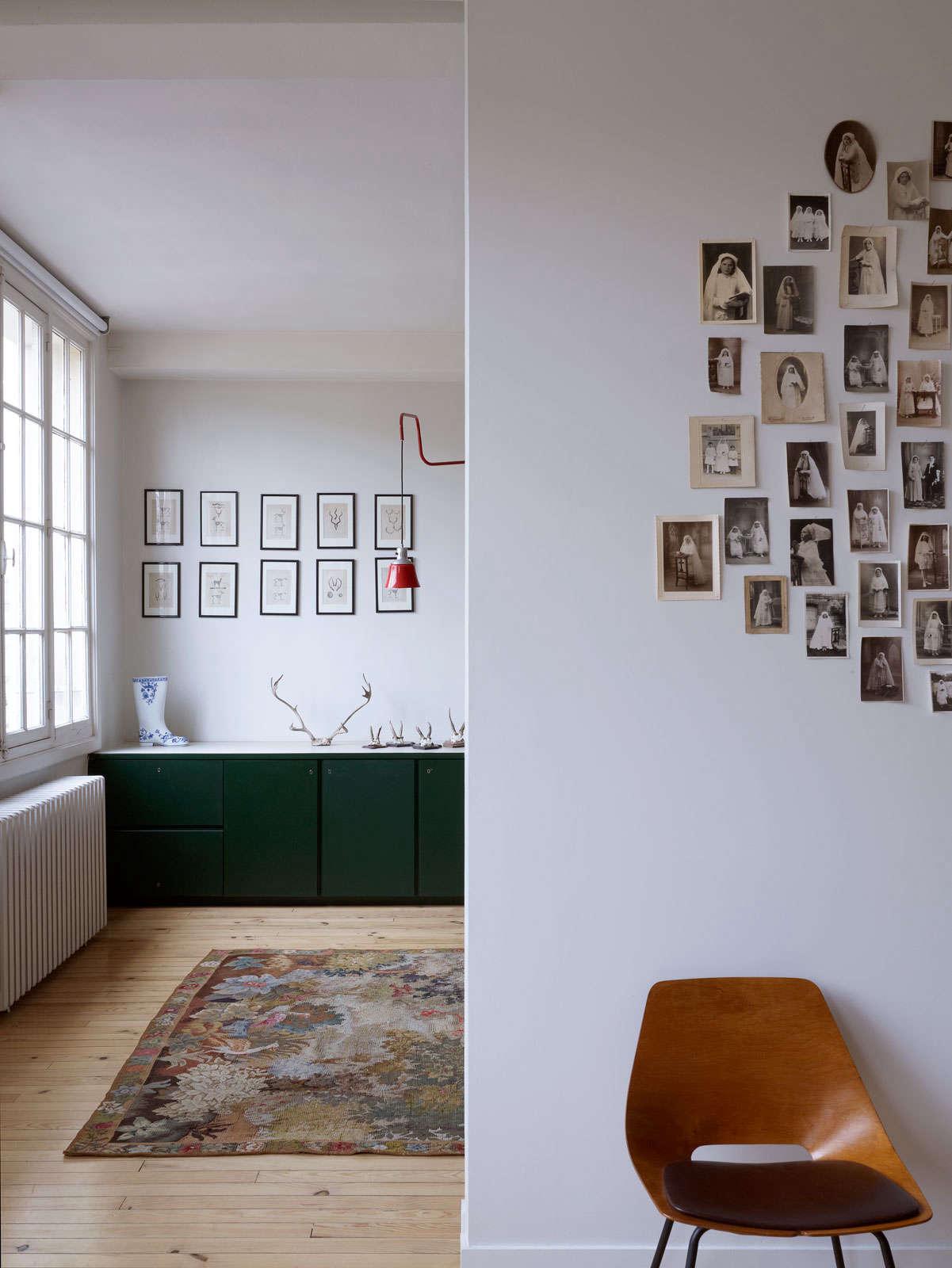 A Minimalist Parisian Loft