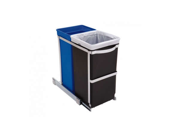 35 Litre Under Counter Pull Out Recycler Commercial Grade