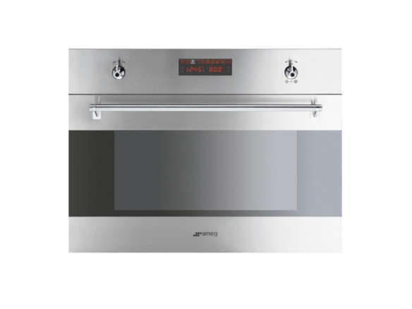 Smeg classic 24 inch built in microwave speed oven for 24 inch built in microwave oven