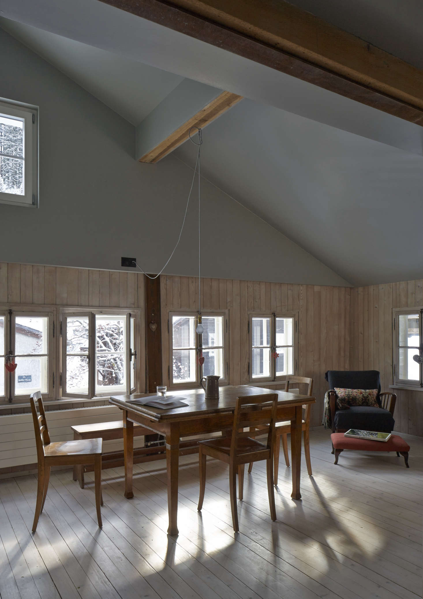 An Alpine Remodel by Jonathan Tuckey.