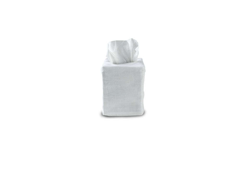 Waterworks Classic Linen Tissue Cover