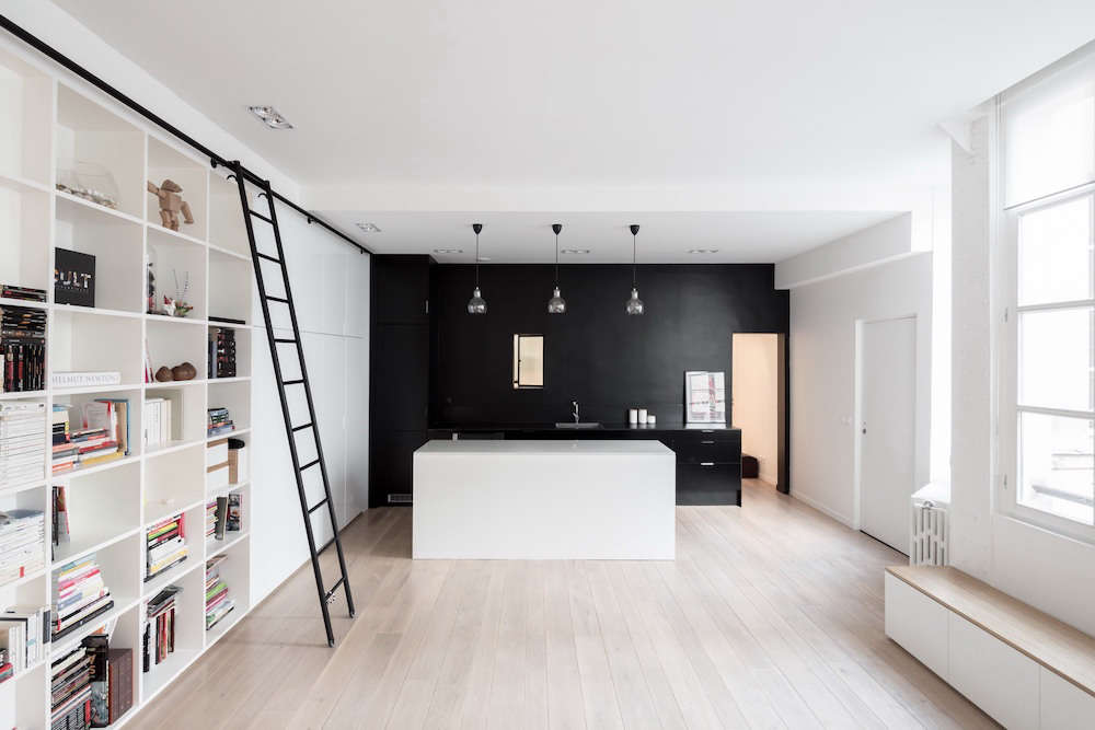 A Place For Everything 900 Square Foot Loft Family Of Four