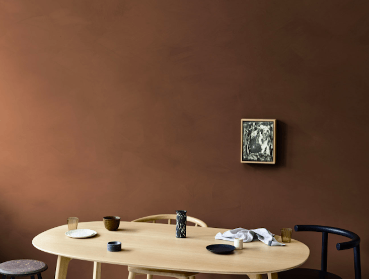 Limewash Paint Company Bauwerk Colour Offers Rich Tones Such As This,  Tobacco, In Limewash