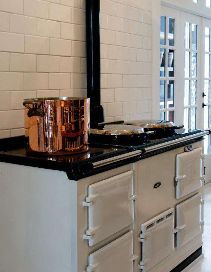 The classic Aga Four-Oven Cooker offers, in addition to four ovens, two hot plates and a warming plate. It's available for$21,000 through authorized Aga dealers, including March,in San Francisco. See Design Sleuth: Classic Aga Cookersfor more.