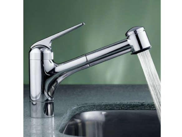 KWC One Handle Pull-Out Spray Kitchen Faucet
