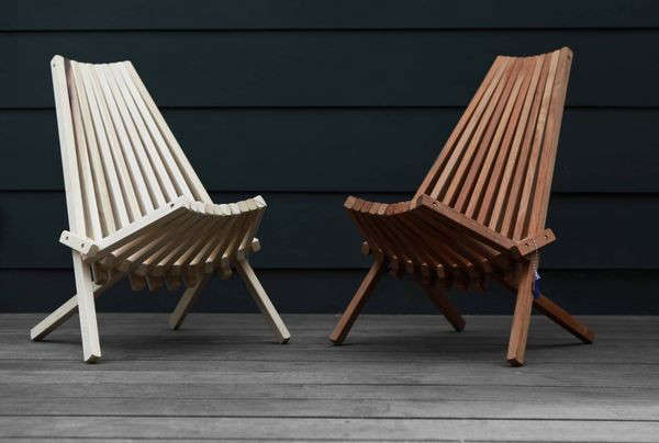 Elegant Above: The Folding Panamericana Deck Chair From Culver City Based  Industries Of All Nations Is $257 For The Small Size And $338 For The Large  Size At A+R ...