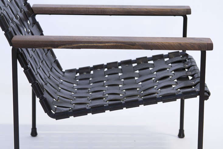 Genial Above: The Perforated Outdoor Lounge Chair In Steel With A Custom Seat  Cover.