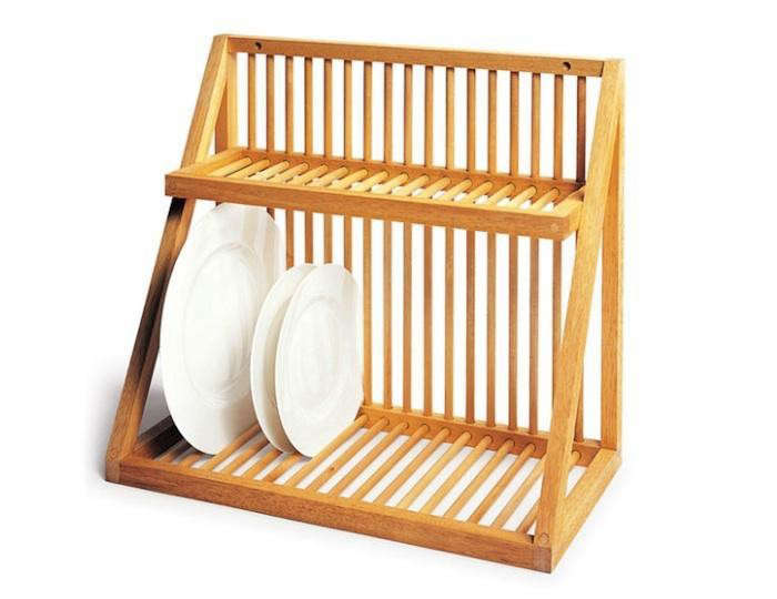 Above Though Meant For The Wall Mounted Dish Rack From Uk Kitchen David Mellor Can Be Set On A Countertop With Or Tray Underneath