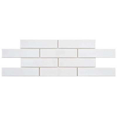 Metro Soho Subway Glossy White Porcelain Tile