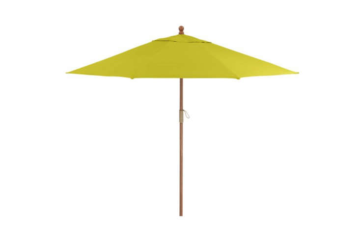Lovely  foot diameter umbrella is reduced from with the option of a base in eucalyptus teak or aluminum The panion cast iron umbrella base