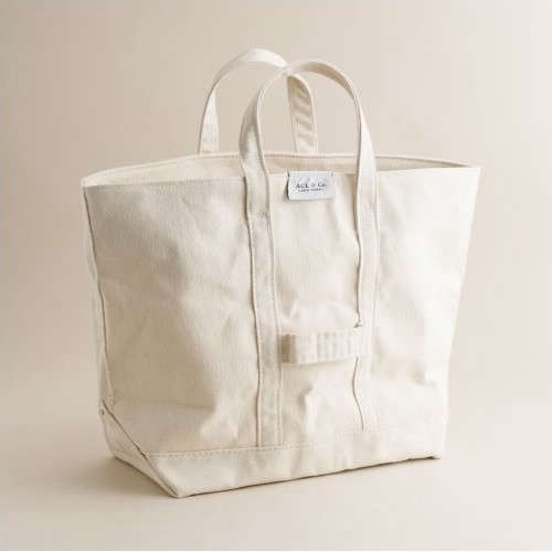 Object Lessons: The Classic Canvas Tote - Remodelista