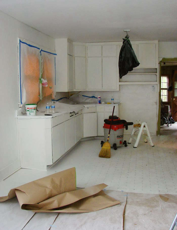 In Progress The Hendrickson S Diy Kitchen Overhaul Owego New York