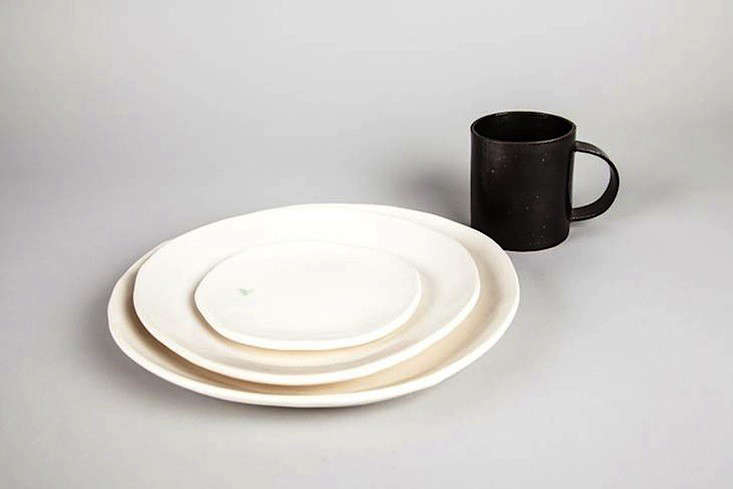 The dinner collection includes White Plates ($55) Shallow White Pitted Bowls ($45) and Pitted Soup Bowls ($45). Some of the plates and bowl are currently ... & 10 Easy Pieces: Handmade Dinnerware from Ceramics Studios - Remodelista