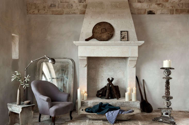 Photographby Emily Andrews, courtesy of Alexander Waterworth Interiors, fromPastels Go Rustic in an Italian Farmhouse.
