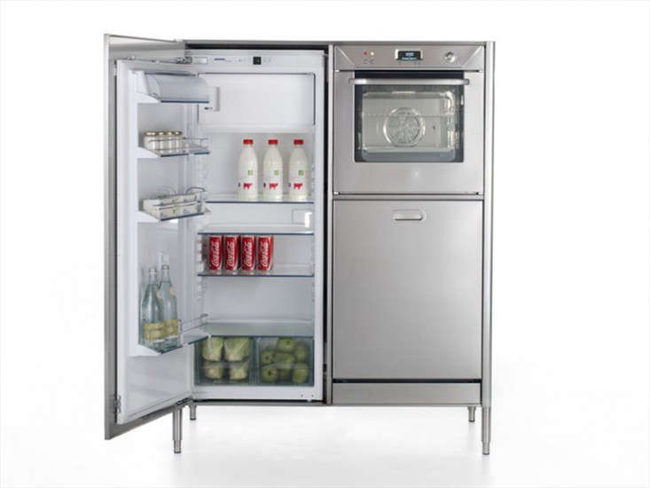 Race Car Style Appliances For Compact Kitchens Remodelista