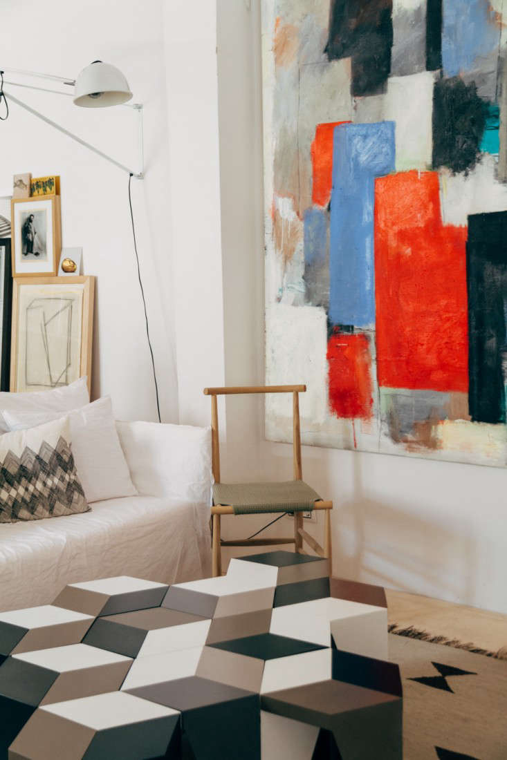 at home with a master of recycling in madrid