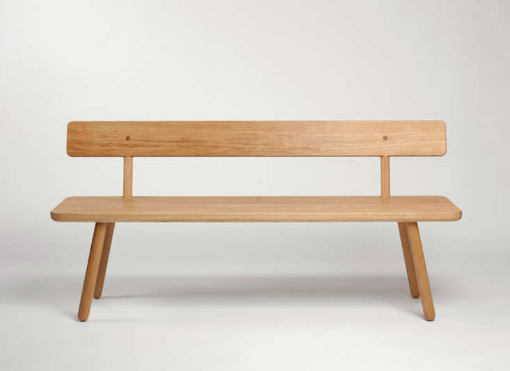 Excellent 10 Easy Pieces Modern Wooden Benches With Backs Remodelista Spiritservingveterans Wood Chair Design Ideas Spiritservingveteransorg