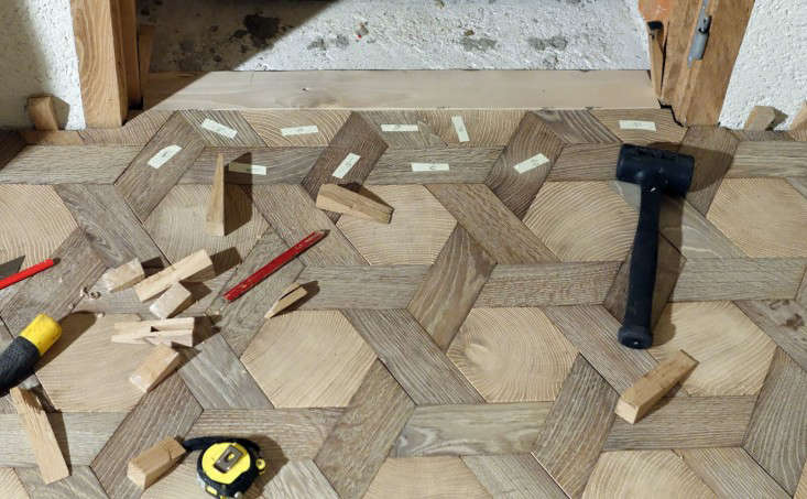 Trend Alert Geometric Flooring Chateau Edition Remodelista