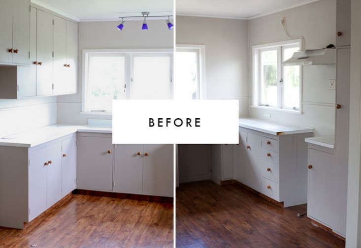 White Kitchen Nz kitchen of the week: a new zealand blogger's $600 diy remodel