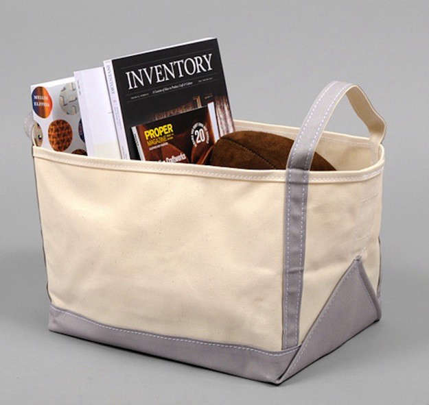 Superieur Trend Alert: 7 Canvas Bins For Books And More