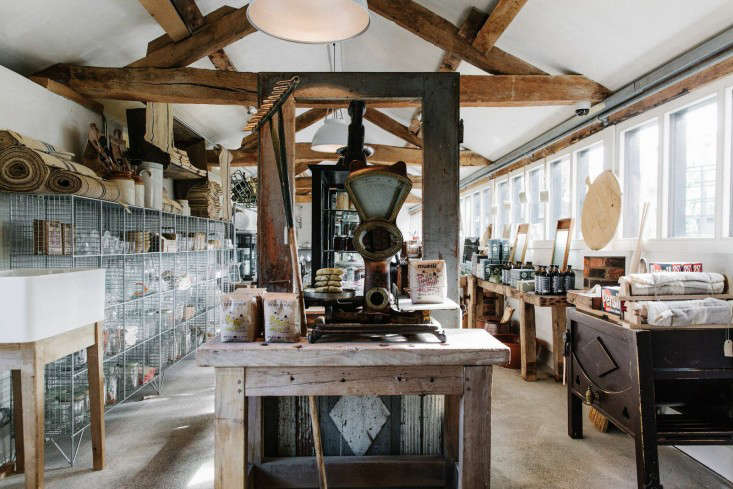 Beauty + Utility: Rustic Storage at Baileys Home and Garden