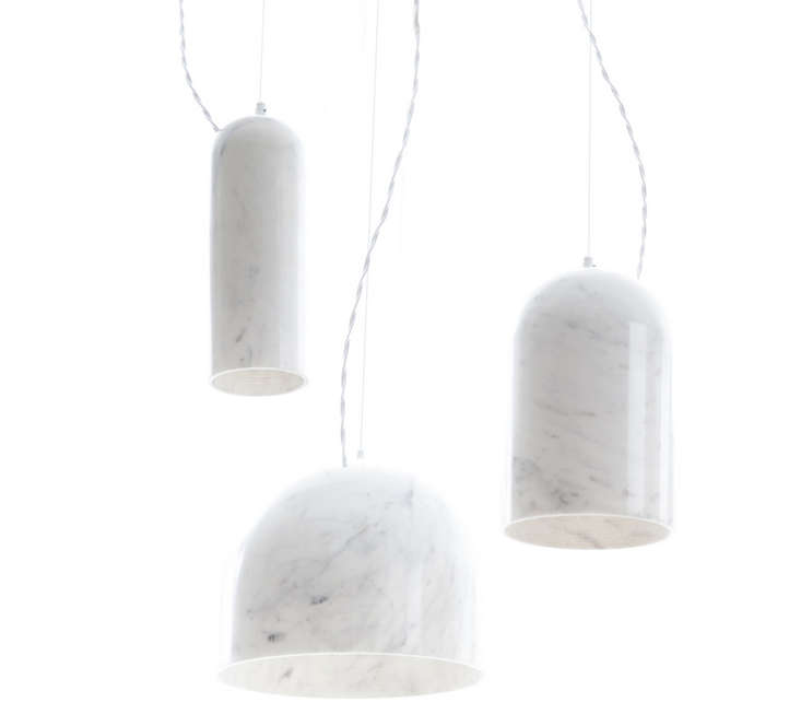 8 Marble Lights Straight From The Quarry Remodelista