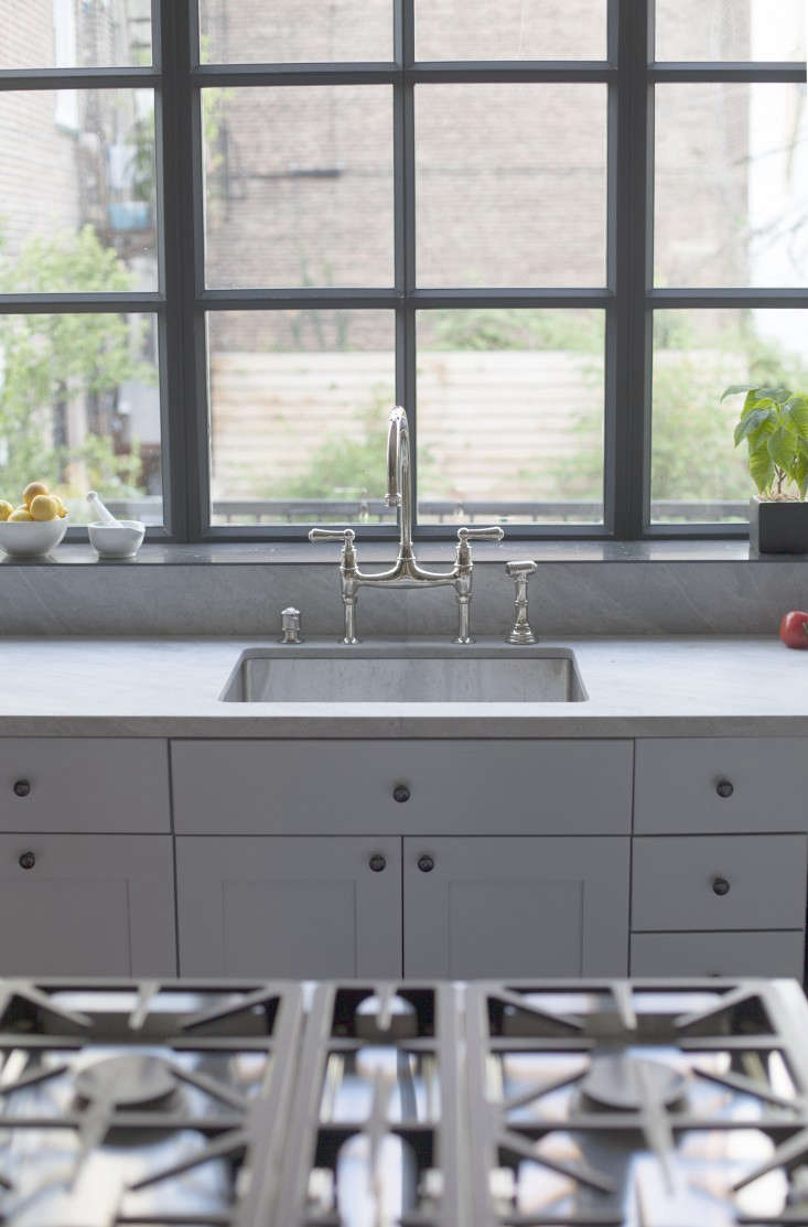 Steal This Look An Industrial Kitchen In Brooklyn Wood Fired Grill Included Remodelista